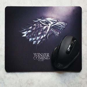Tapis de souris Game of Thrones Stark Winter is coming