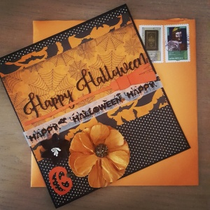 Carte Halloween #snailmail Amitié