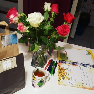 Cadeaux de Noël Christmas Shopping Thé Tea Roses Leonie Dawson Workbooks Pensée positive Gratitude Count Your Blessings