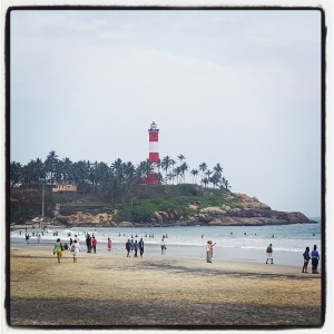 Kovalam Beach Lighthouse India Inde