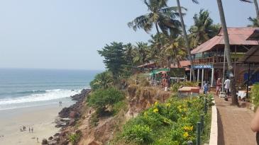 Inde Varkala Kerala India Beach Cliff Falaise Plage Voyage Travel Wanderlust