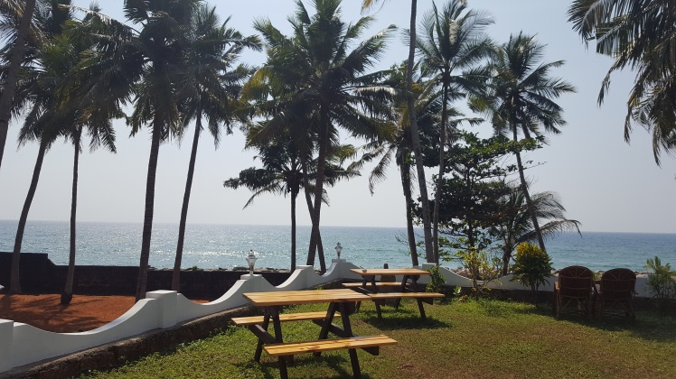 Varkala Odayam Beach Kerala India Inde Mer d'Oman Oman Sea
