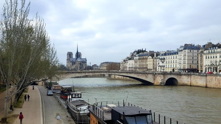 Paris Notre Dame La Seine Péniches Enjoy the little things Count Your Blessings Positive Thinking