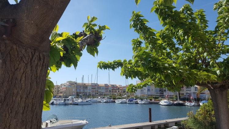 Marina Cap d'Agde Languedoc Méditerranée Count Your Blessings Gratitude Journal