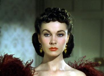 Les héroïnes de ma vie Scarlett O'Hara Gopne With the Wind Autant en emporte le vent Vivien leigh