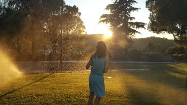 Jets d'eau Plaisirs d'été Vacances Pleine Conscience Petits Bonheurs Gratitude Journal
