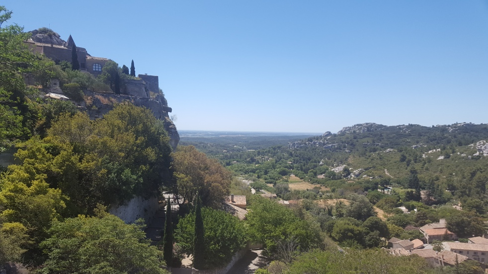 Les Baux de Provence Panorama Petits Bonheurs Gratitude Journal Summer Loving Today I Love Myself Enjoy the little things Count your blessings