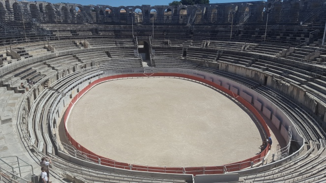 La corrida arènes d'arles Francis Cabrel tauromachie Arles Provence