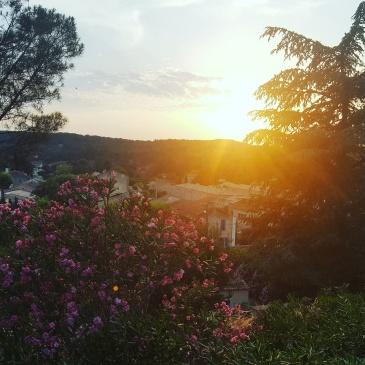 Summer in Provence Sunset Coucher de soleil Pleine conscience Journal de mes émotions Self-love Se connaître soi-même