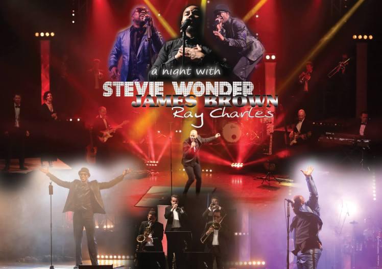 Tribute Ray Charles James Brown Stevie Wonder