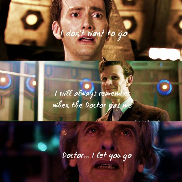 Doctor Who Peter Capaldi I Let You Go 02