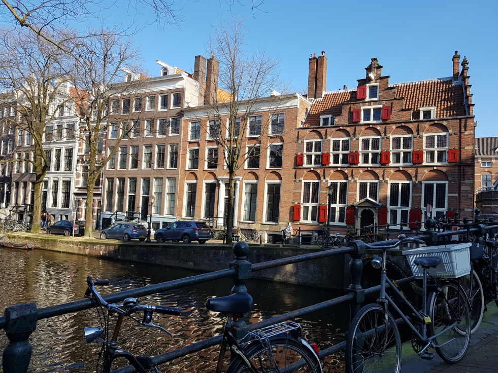 Amsterdam Canaux Pays-Bas Vélos Netherlands Canals Bikes