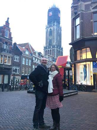 Utrecht Netherlands Pays-Bas Cathedral Tower Touri