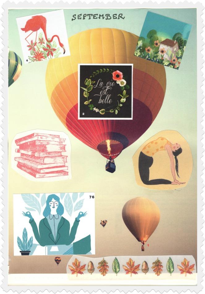 Bullet Journal Monthly Spread Blog Aujourd'hui je m'aime Développement personnel Self-love
