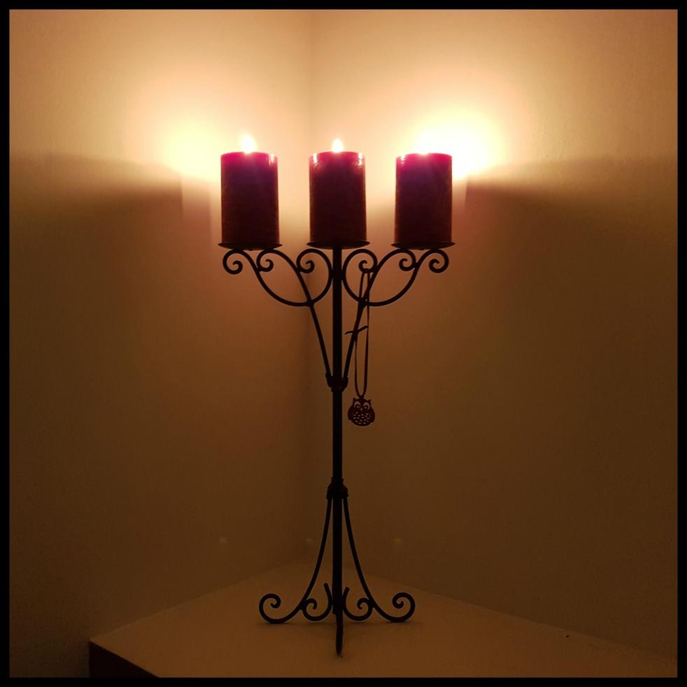 Candles Bougies Automne Hygge Blog développement personnel bien-être self-love Aujourd'hui je m'aime