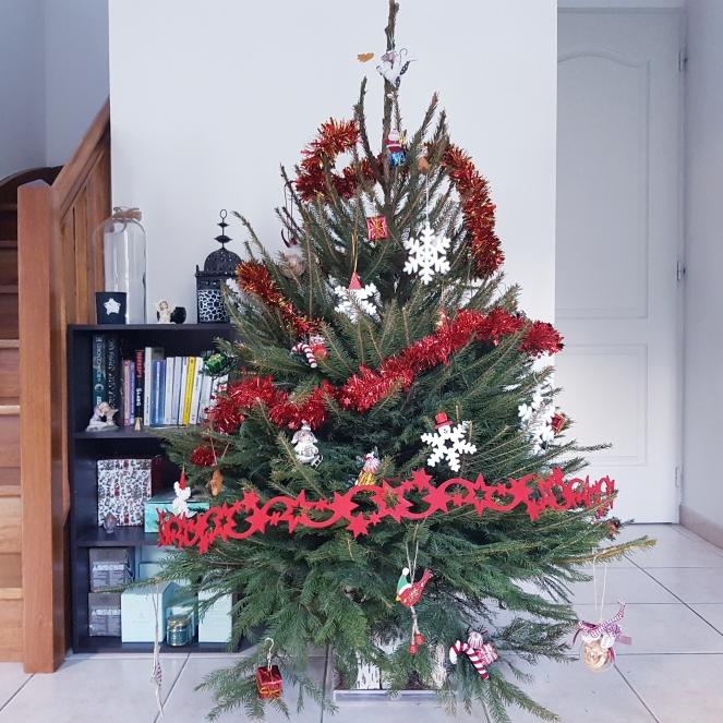 Sapin de Noël Les petits bonheurs Gratitude Journal Christmas Tree