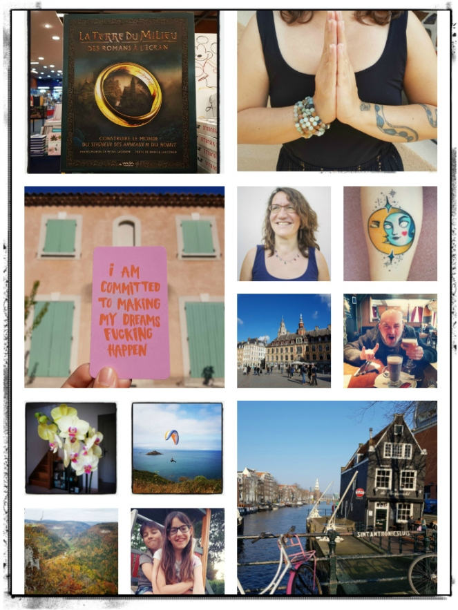 End of Year Review The Year 2018 in Review Amsterdam Road Trip Lille Brittany Franche-Comté THe Lord of The Rings Yoga Meditation Manifestation Love Kids