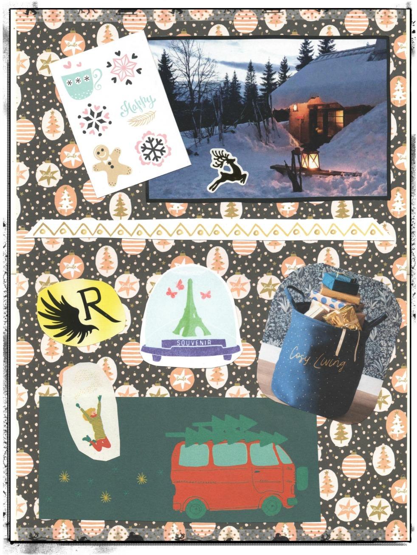 Monthly Spread Creativity Bullet Journal Christmas