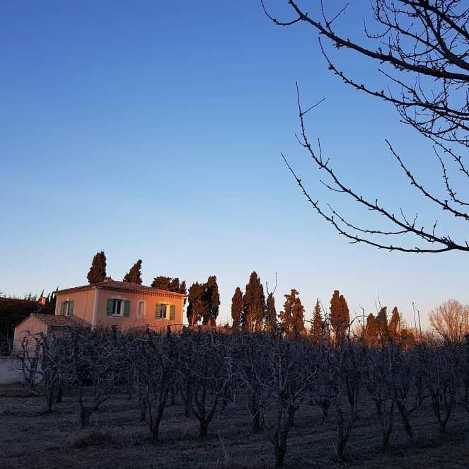 Gratitude Journal Sunset Provence Winter Life is good