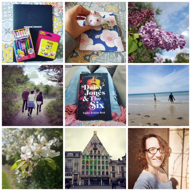 Count Your Blessings The Best Tens of the month #the100dayproject Bretagne Famille Family Kids Love Lille Spring Flowers Printemps Fleurs Daisy Jones & The Six