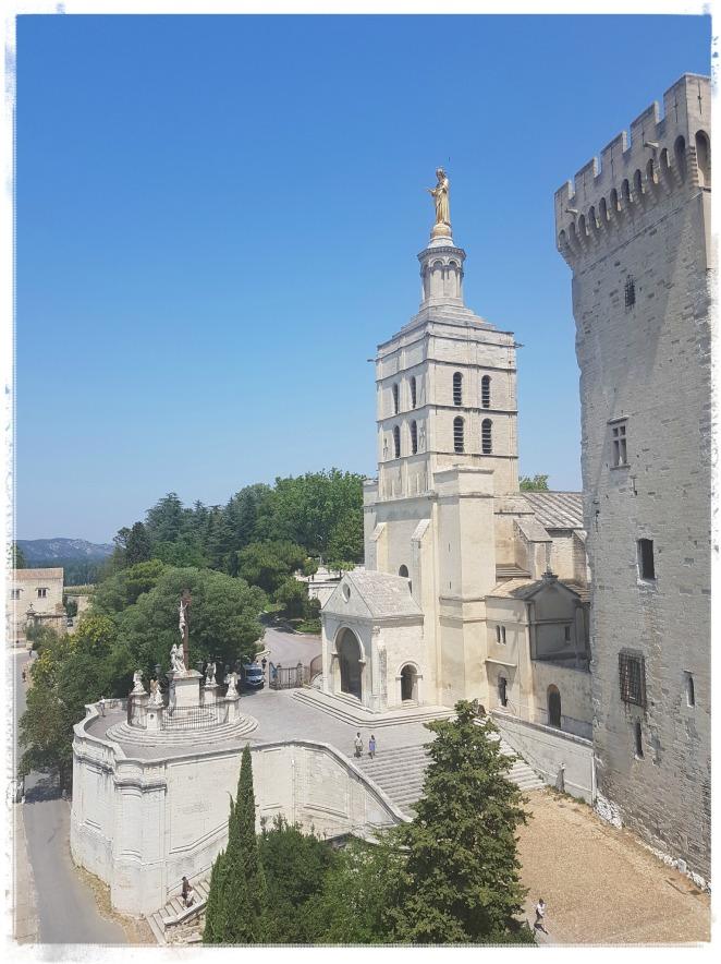 Avignon Cathédrale Notre-Dame-des-Doms La Vierge Divine Feminine Féminin divin