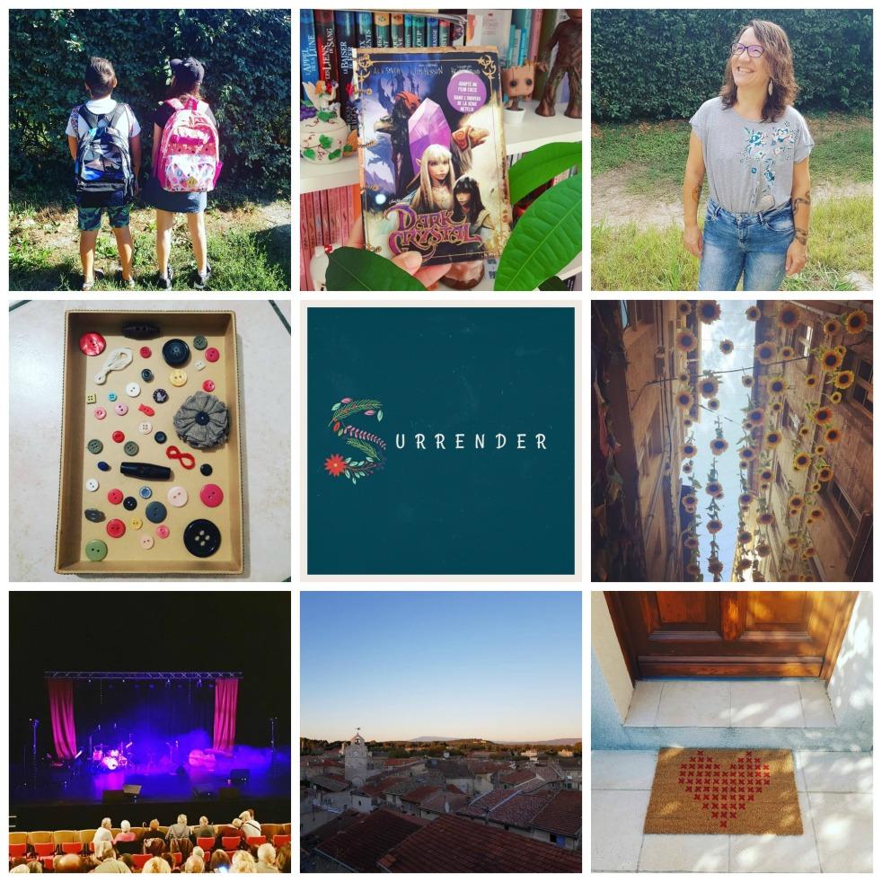 Collage Memories Petits bonheurs Gratitude Journal Count Your Blessings le meilleur du mois the best of the month