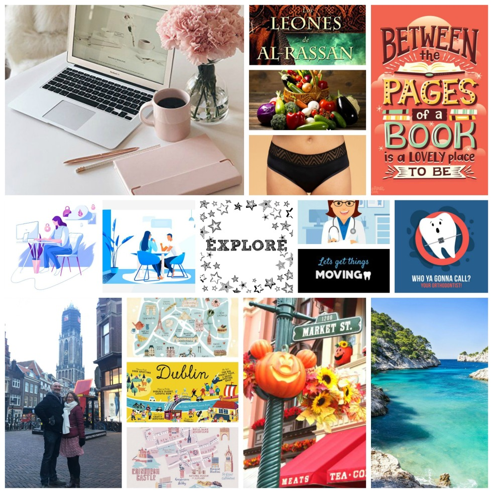 Moodboard What I want for 2020 Work Travel Health Books Ecology
